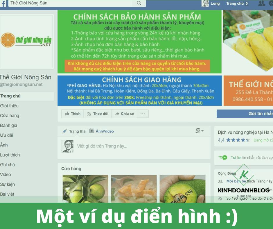 Thành lập Fanpage trên Facebook