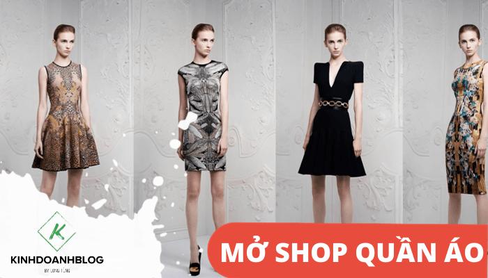 Mở shop quần áo online