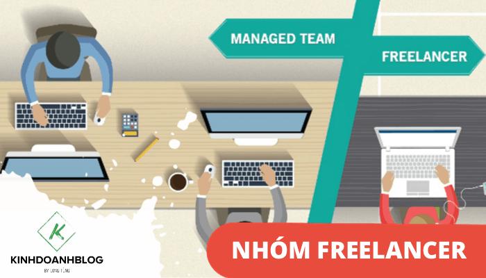 Tạo nhóm dịch vụ freelancer online