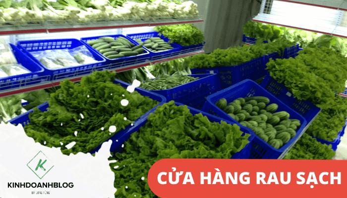 Mở cửa hàng rau quả sạch